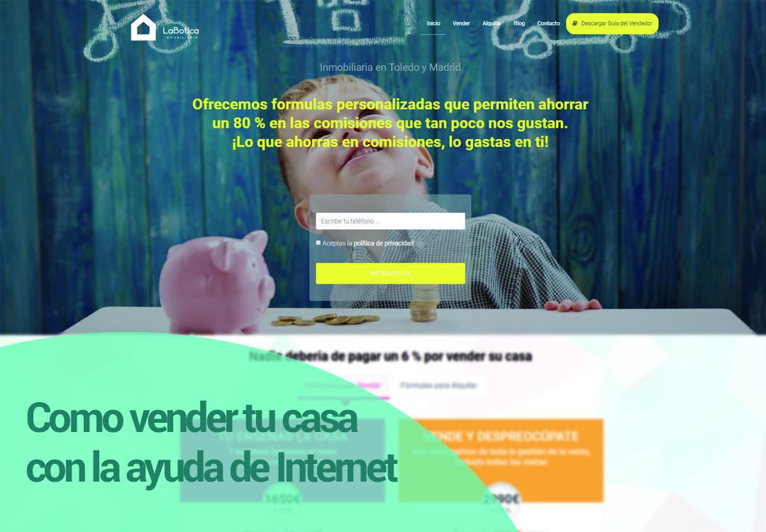 CÓMO VENDER TU CASA CON LA AYUDA DE INTERNET
